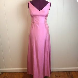 Jim Hjelm Pink Classic Simple Prom Gown